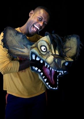 Der US-Amerikaner Pierre Alexandre (35) ist neu und spielt die fiese Hyäne Banzai